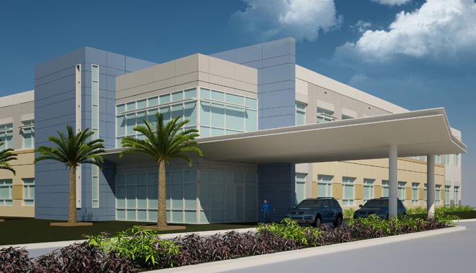Mann Research Center building