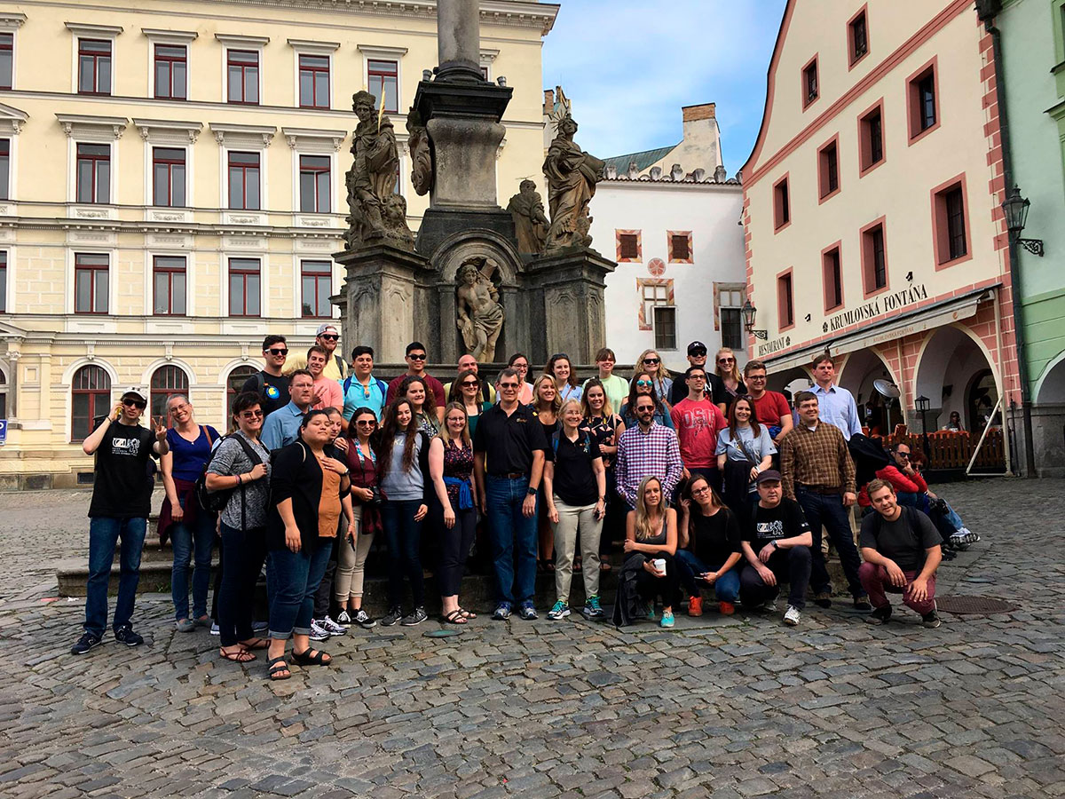 IRSC students studied abroad with the Czech University of Life Sciences Prague in summer 2017.