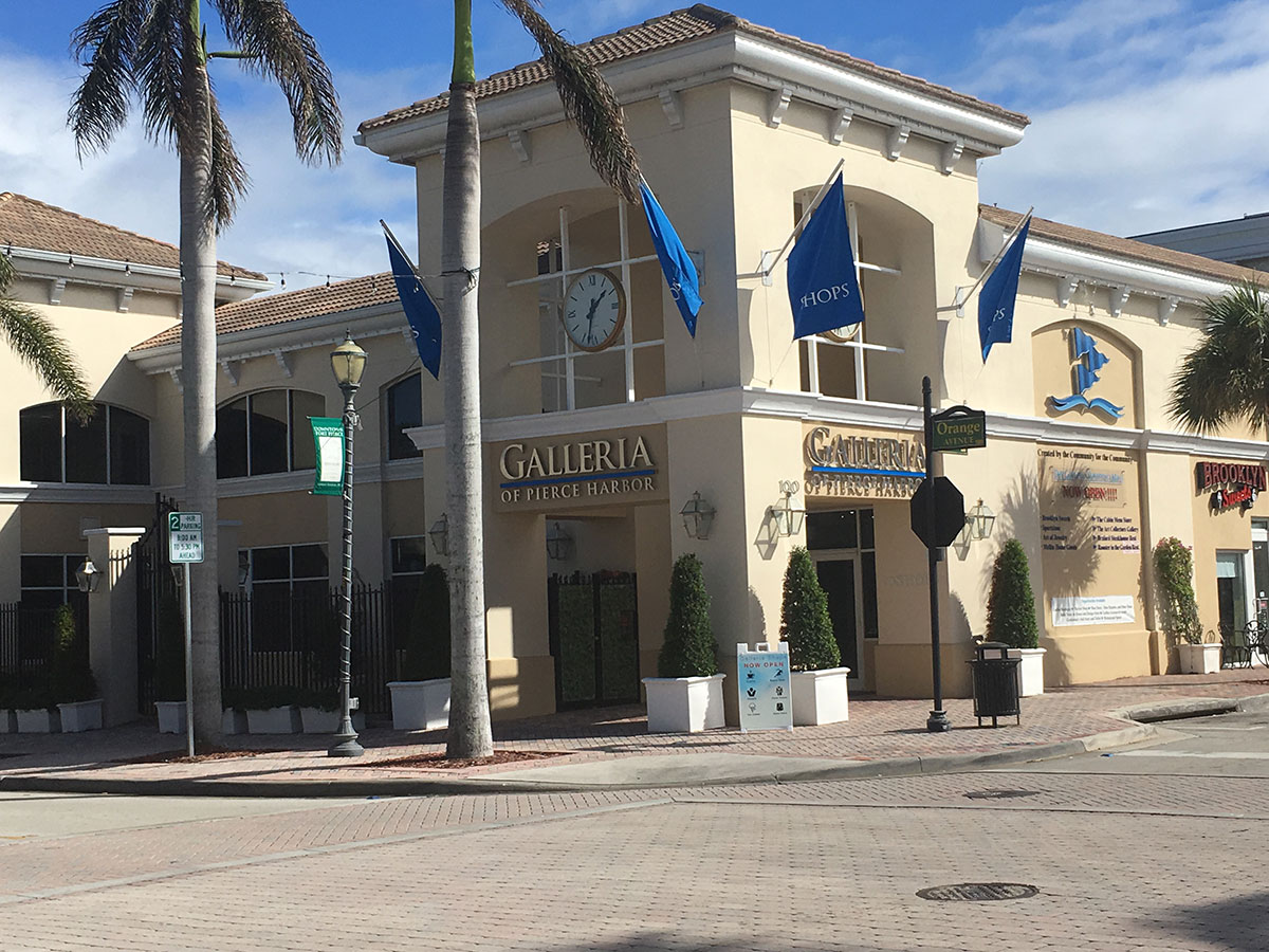 The restaurants will be located in the Galleria of Pierce Harbor in downtown Fort Pierce.