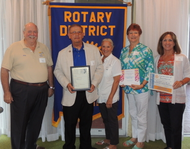Sunrise Rotary Vero Beach wins three district awards