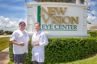 New Vision Eye Center sponsors Richard DeSocio at The Florida Senior Games