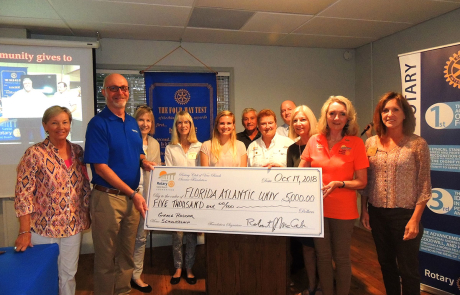 Sunrise Rotary announces winner of the Dritenbas Environment Scholarship