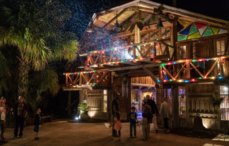 McKee Botanical Gardens brightens the season with annual holiday and Nights of Lights Celebration