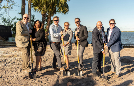 Seminole Bluff groundbreaking signals construction start for $40 million luxury waterfront condo project