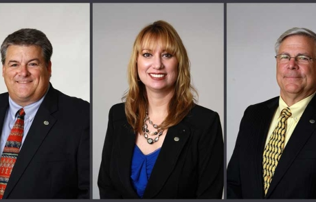 Three IRSC District Board of Trustee Members reappointed by Governor