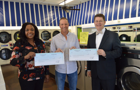 United Against Poverty cleans up with Sunshine Laundry Center partnership
