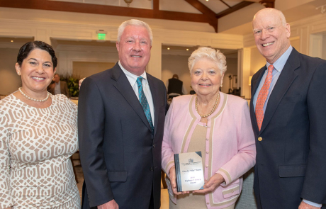 May Smyth honored at 2019 Kiplinger Luncheon