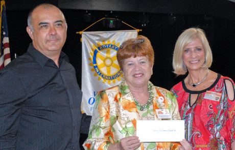 TCCH awarded $10k by the Rotary Club of Vero Beach Oceanside