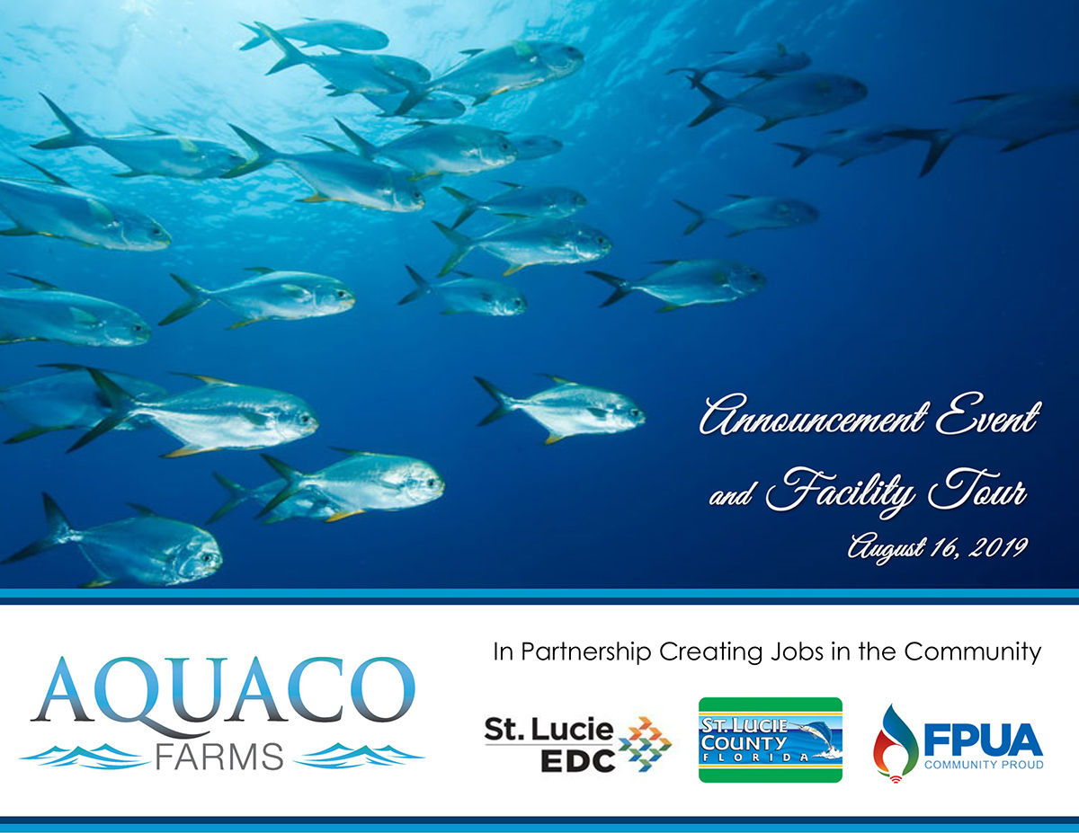 tcbusiness com – St  Lucie County reels in new aquaculture