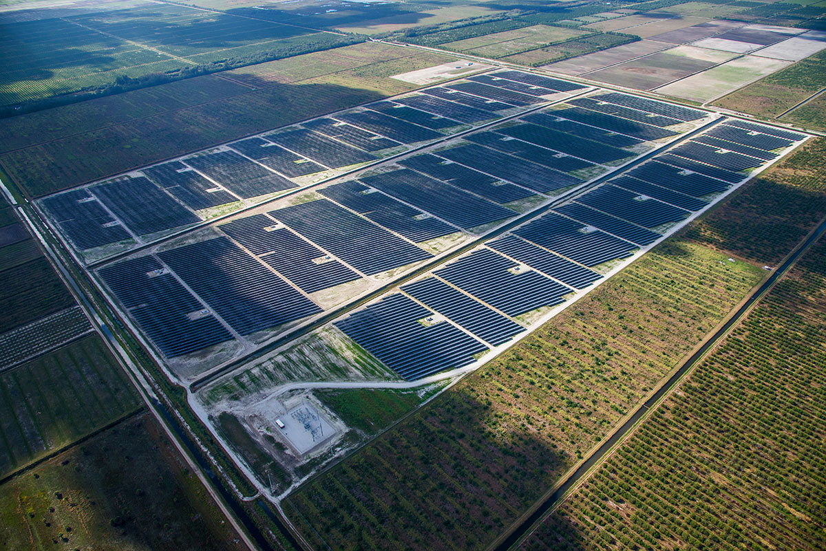 Indian River County is home to two solar farms