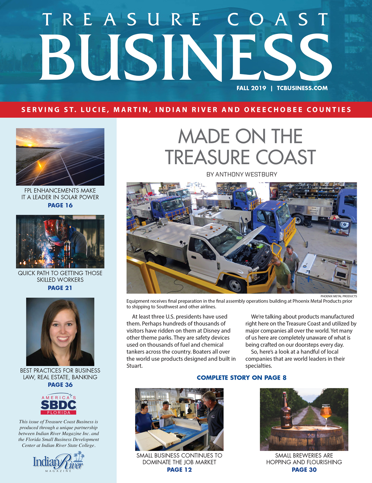 Treasure Coast Business Magazine Fall 2019
