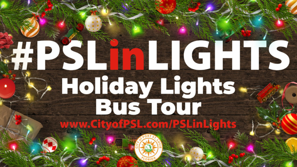 PSL in lights bus tour