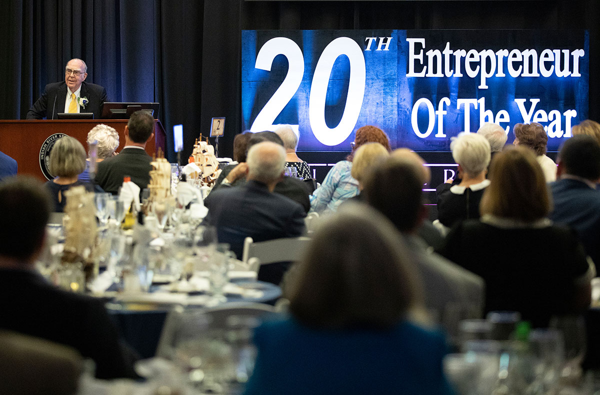 annual Entrepreneur of the Year gala dinner