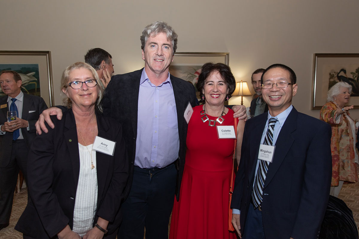Dr. Amy Wright, Dr. Greg & Dr. Collette O'Corry Crowe, Dr. Mingshun Jiang.