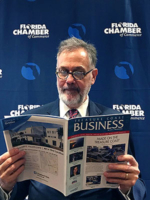 Dr. Jerry Parrish, the chief economist and director of research for the Florida Chamber Foundation