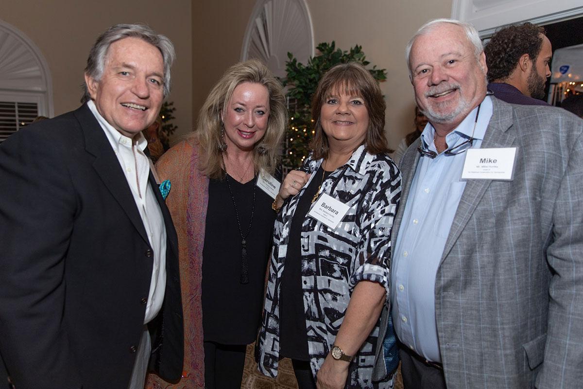 Mr. Dave & Mrs. Caroline Bauer, Mr. Mike & Mrs. Barbara Hunley.