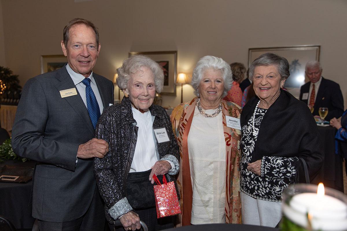 Mr. Joe Duke, Ms. Alma Lee Loy, Mrs. Jennifer Johnson Duke, Mrs. Eleanor Sexton.
