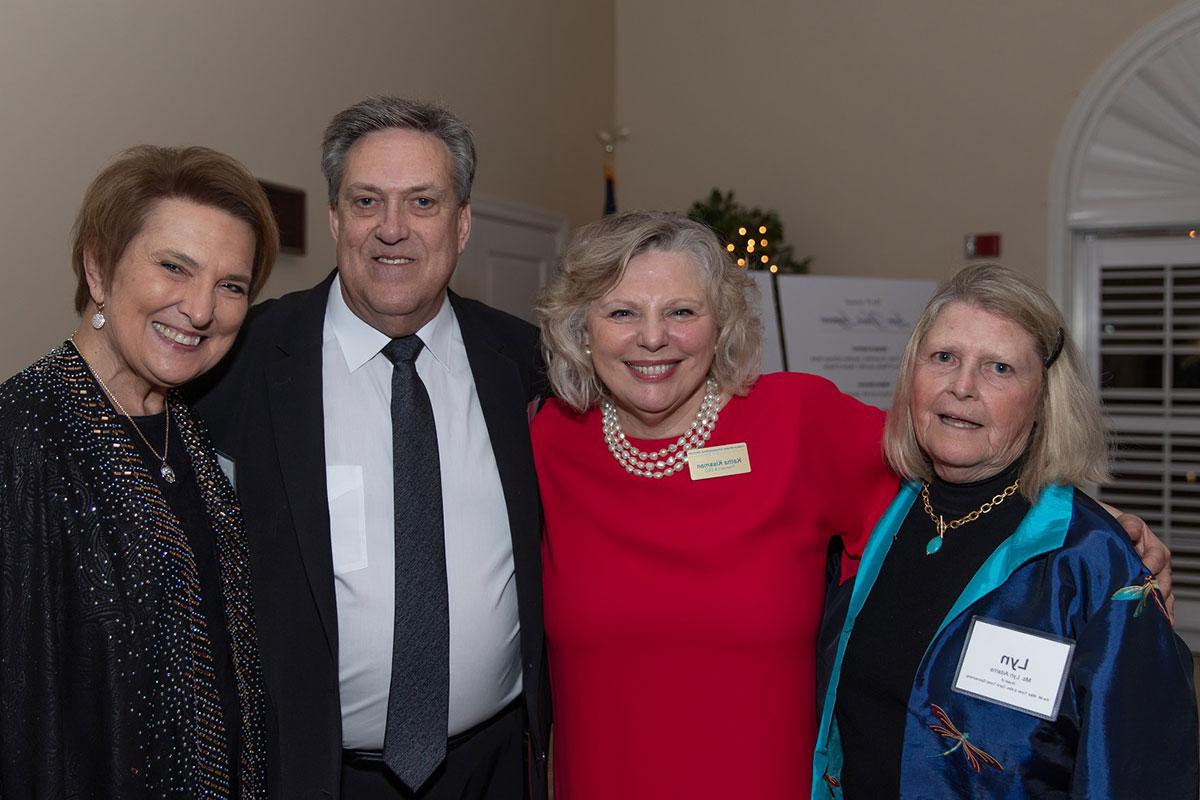 Mrs. Marg & Mrs. Jon Putzke, Ms. Katha Kissman, Ms. Lyn Adams.