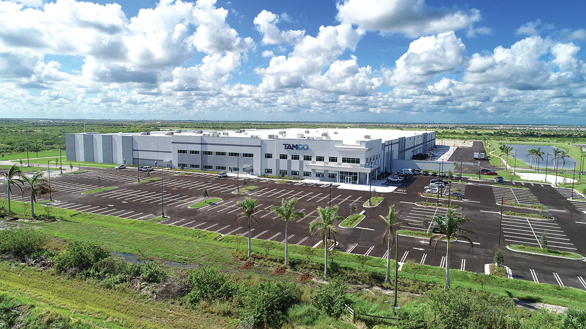 TAMCO Group manufacturing and distribution facility in Port St. Lucie