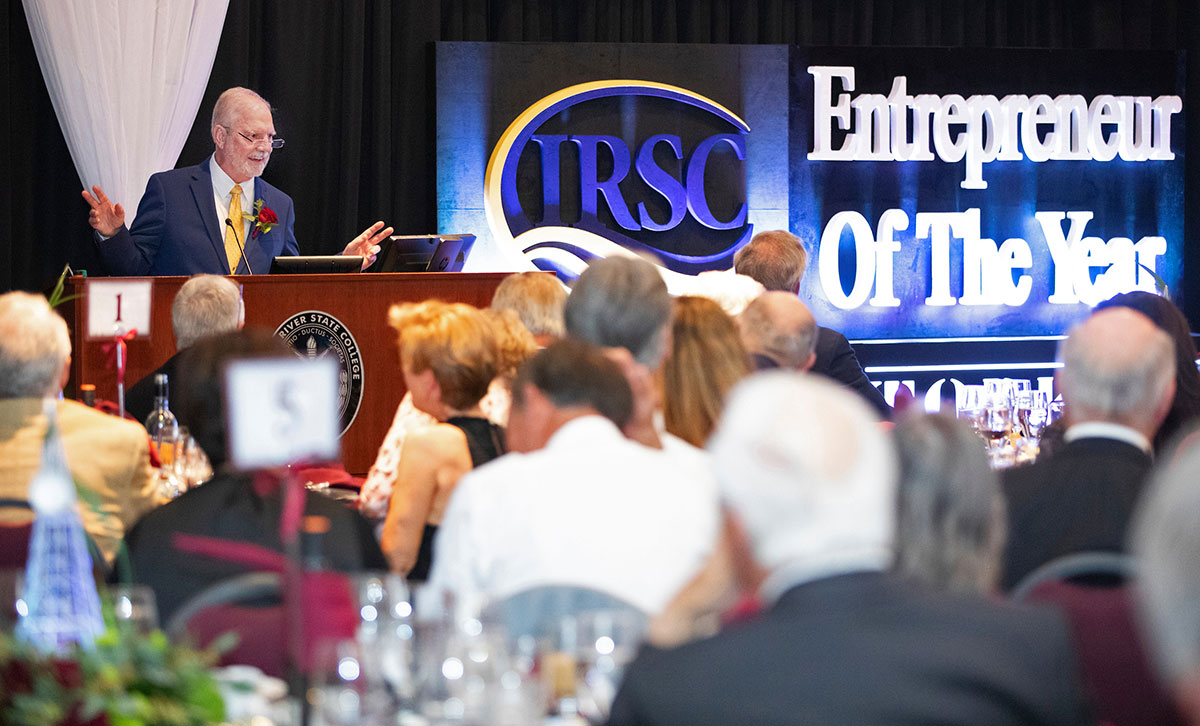 the annual IRSC Entrepreneur of the Year event