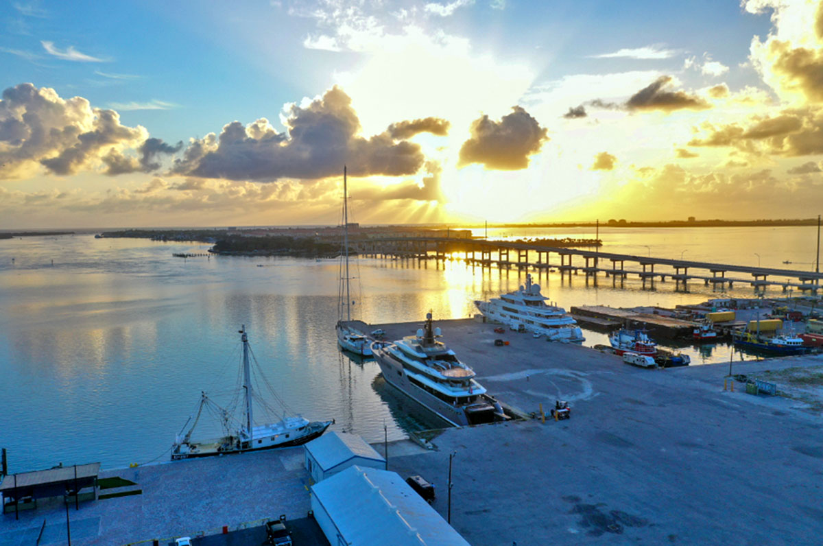 Indian River Lagoon and the Port of Fort Pierce
