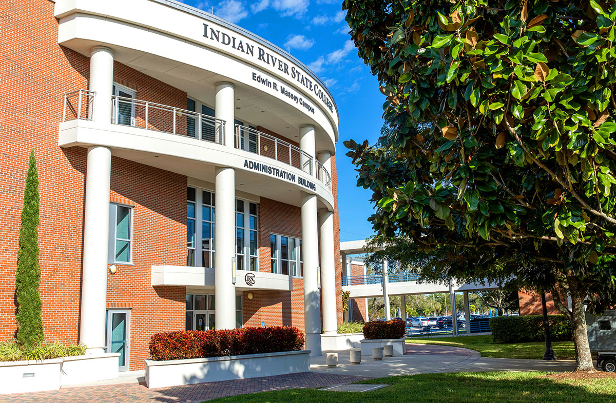 The Indian River State College Administration Building