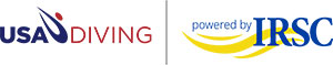USA Diving and IRSC logos